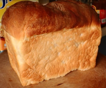 a loaf of home made bread