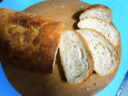 by03nb13slicedbread delicious garlic bread with the batter and dough method