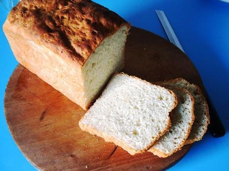 sliced bread in two hours batter and dough method